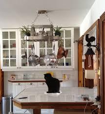 kitchen island pot rack lighting good pot racks hanging kitchen