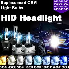 2x hid xenon replace light bulbs d1s d1r d1c d2s d2r d2c d3s d3r