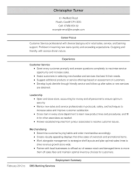 Resume Customer Service Sample by 100 Banking Customer Service Resume Template Cover Letter