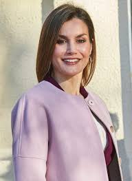 queen letizia attends a meeting with the foundation for against