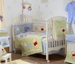 baby nursery themes with winnie the pooh crib bedding also baby