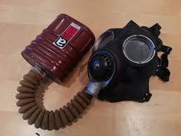 ww2 gas mask filter tested by env found to contain crocidolite