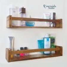 Wooden Shelves Pictures by Best 10 Wooden Bathroom Shelves Ideas On Pinterest Wooden