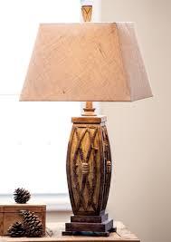 Interesting Lamps Lighting Rustic Lamps U0026 Cabin Lighting With Rustic Table Lamps