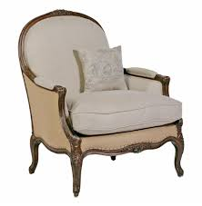 Oversized Accent Chair Chloe Oversized French Country Burlap Linen Bergere Accent Chair