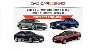 spec comparison audi a4 vs mercedes c class vs bmw 3 series