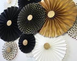 paper fan circle decorations wedding fans etsy nz