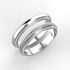 fancy wedding rings wedding rings 3d print model cgtrader wedding