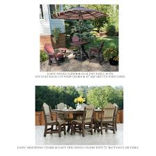 Patio Furniture Syracuse Ny by Hostetler Tables U0026 Chairs Poly Outdoor Furniture Catalog