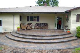 Making A Paver Patio by Before And After Portland Oregon Paver Driveway And Patio