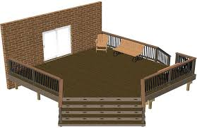 Wood Deck Design Software Free by Get Free Do It Yourself Deck Plans