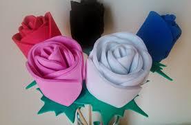 como hacer mascaras en forma de rosa rosa de goma eva o foami manualidades en goma eva y foami