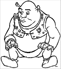 shrek coloring pages wecoloringpage