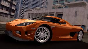koenigsegg cc8s orange tdu
