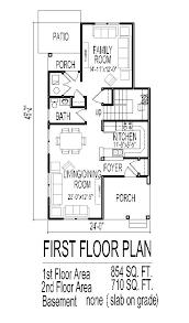 homes for narrow lots floor plans narrow lot homes photogiraffe me