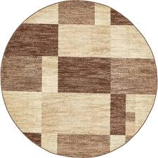 Light Brown Area Rugs Unique Loom Harvest Light Brown 3 Ft 3 In X 3 Ft 3 In Round