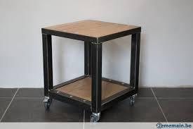 canapé style industriel meubles style industriel bout de canapé a vendre 2ememain be