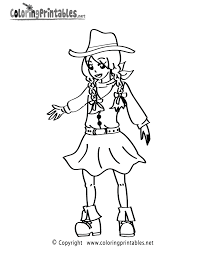 cowgirl coloring pages mediafoxstudio com