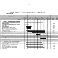 weekly status report template excel construction progress report sle and weekly