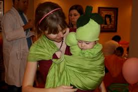 Pea Halloween Costume Easy Babywearing Halloween Costume Unhurried