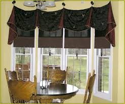 Bay Window Valance Valance For Kitchen Bay Window Home Design Ideas