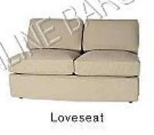 Pottery Barn Loose Fit Slipcover Pottery Barn Velvet Chair Slipcovers Ebay