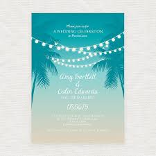 palm tree wedding invitations tropical printable wedding invitation digital file fairy