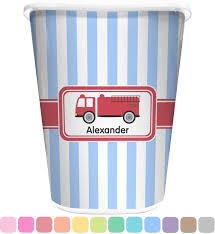 firetruck waste basket personalized potty training concepts