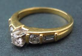 gold engagement rings uk 18ct gold engagement ring uk size n on the web