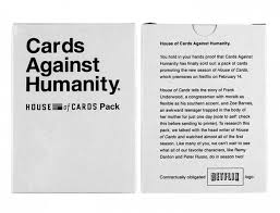 cards against humanity reject pack cards against humanity 14 booster expansion packs house party