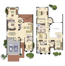 Florida Home Floor Plans The Bridges In Boca Raton By Gl Homes