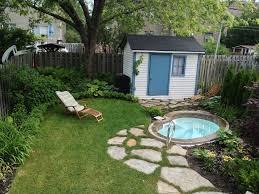 Backyard Inground Swimming Pools Small Inground Swimming Pools Minimalist Backyard Decor With