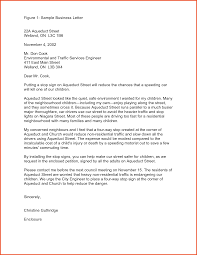 Block Style Letters by Example Of Full Block Style Letter Inquiry Cover Letter Templates
