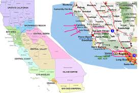 California Map Central Coast Ubd Map 289 Buy Map Of Central Coast Mapworld