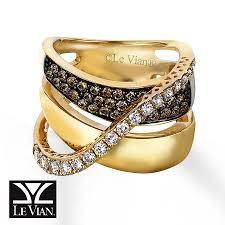kay jewelers credit card kay levian chocolate diamonds 1 1 5 ct tw ring 14k honey gold