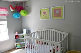 Nursery Ceiling Decor Baby Nursery Decor Gray Colored Wall Theme Baby Nursery