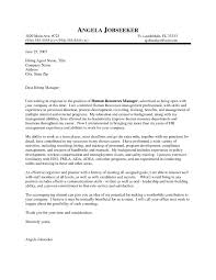 Cover Letter For It Company Sample Cover Letter For Hr Gallery Cover Letter Ideas