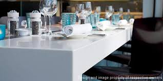 Corian Dining Tables High Performance Restaurant Design At The Radisson Hotel Dupont