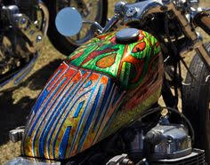 design on motorcycle using sharpie markers he doesn u0027t give away
