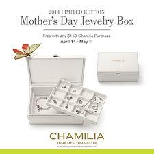 s day jewelry gifts free s day gift chamilia jewelry box diamond engagement