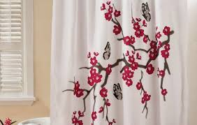 Cherry Blossom Curtains Curtains Ideas Cherry Blossom Shower Curtain Pictures Of
