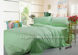 Green Comforter Sets Light Green Bedding Sets Twin Full Queen King Size Bedding Cotton