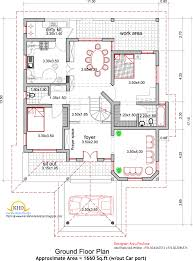 One Floor House Plans Picture House Elevation Sq Ft Kerala Home Design Architecture House Plans Kerala