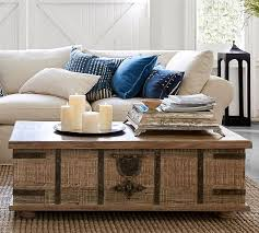Lift Coffee Tables Sale - kaplan lift trunk pottery barn