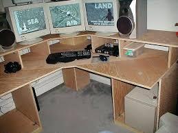 Computer Desk Woodworking Plans Free Computer Desk Woodworking Plans L Shaped Home Office Interior