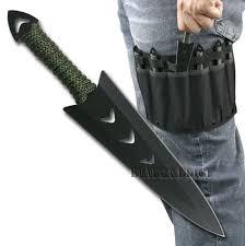 Unique Knives Amazon Com New 6pc Ninja Naruto Tactical Combat Hunting Kunai
