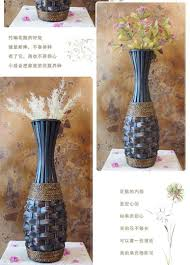 Big Floor Vases Home Decor by Kingart Bamboo Vase Large Floor Vase Vintage Living Room Home