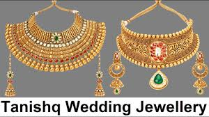 gold set for marriage tanishq wedding jewellery sets rivaah collection