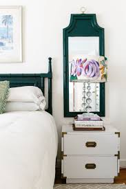 nightstand appealing epic wood and metal nightstand in modern best 25 mirrors behind lamps ideas on pinterest transitional