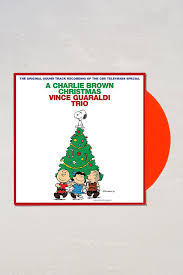 original brown christmas vince guaraldi trio a brown christmas lp outfitters
